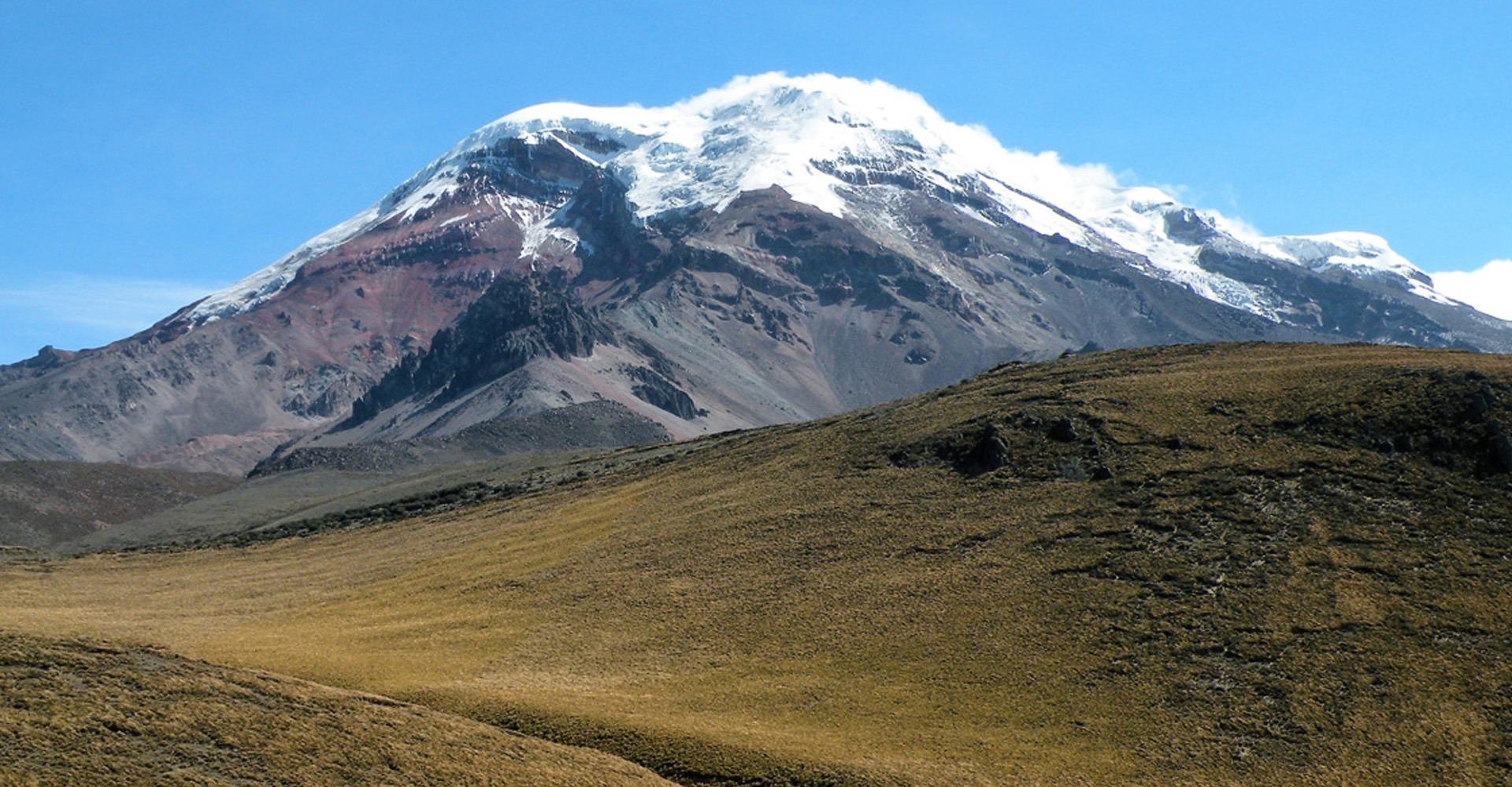 snowcapped ecuadorian Chimborazo