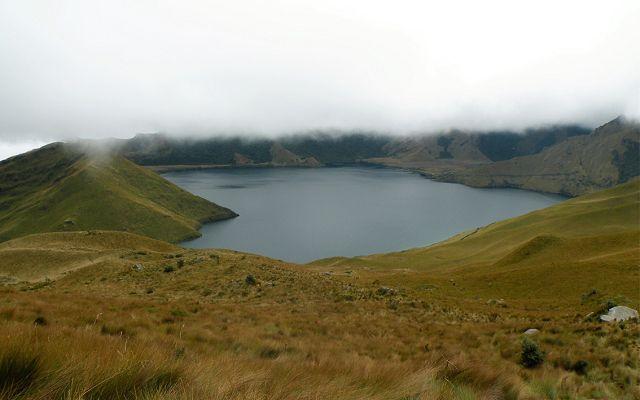 lake of the ecuadorian Fuya Fuya