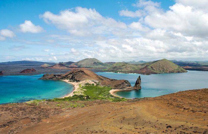 view on the Bartolomé Island