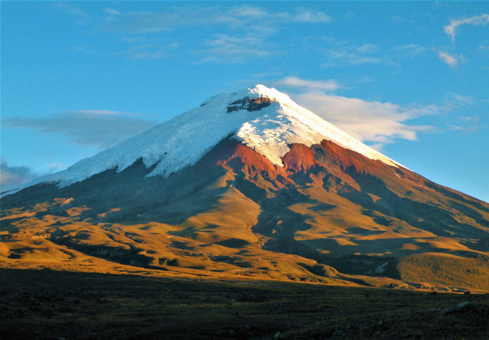 view of the Cotopaxi